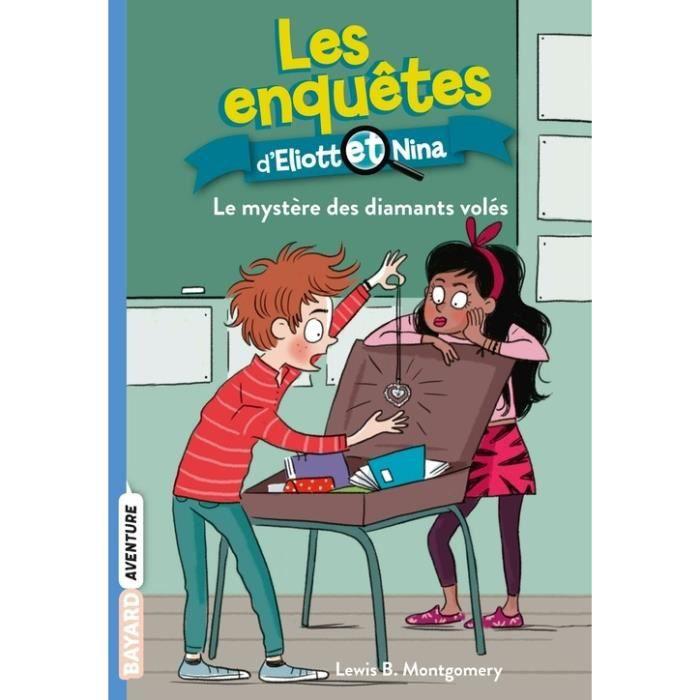 Livre 6-9 ANS Les enquêtes d'Eliott et Nina Tome 8 : Le mystère