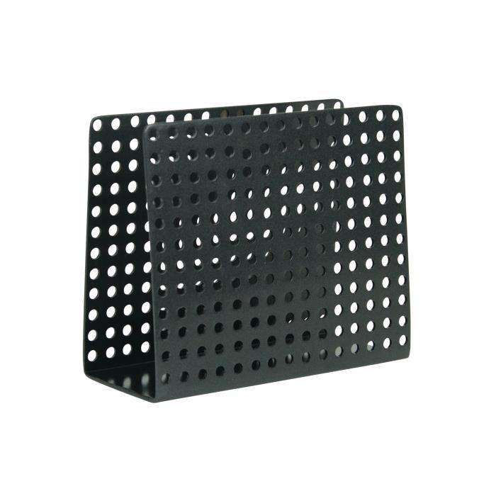 SP Porte-serviettes Metro - 15 x 12 x 6,5 cm - Noir