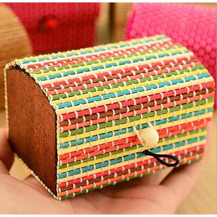 Boîte de rangement en bambou créative à grande capacité Boîte à bijoux  Boîte à savon-GSY70401601ML_911