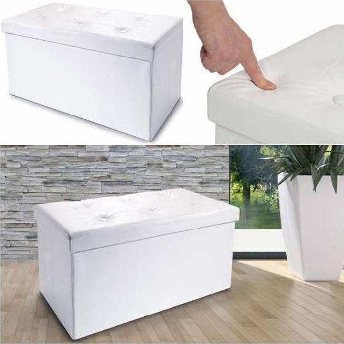 coffre rangement bois achat vente pas cher. Black Bedroom Furniture Sets. Home Design Ideas