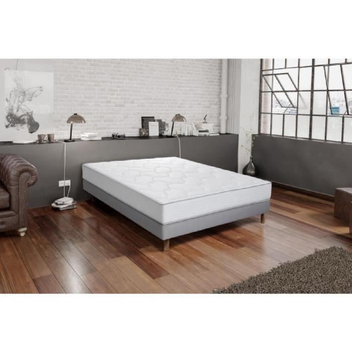 ensemble matelas et sommier 180 200 achat vente pas cher. Black Bedroom Furniture Sets. Home Design Ideas