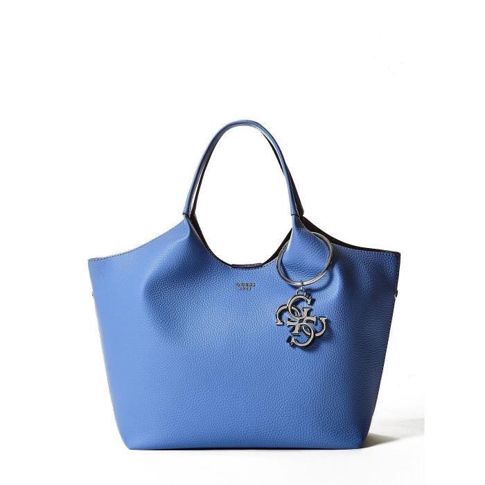 59a34e7d57 Sac guess bleu - Achat / Vente pas cher