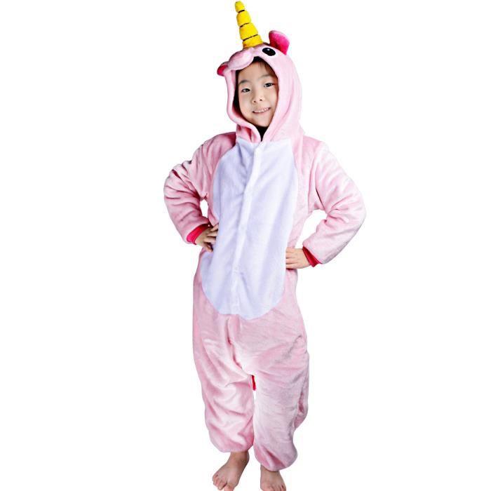 Kigurumi enfant d guisement licorne grenoulli re licorne gar on fille pour halloween no l - Deguisement halloween enfant garcon ...