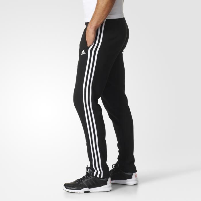 7761052feee ADIDAS Pantalon Essentials 3-Stripes T PNT FT - Homme - Noir - Prix ...