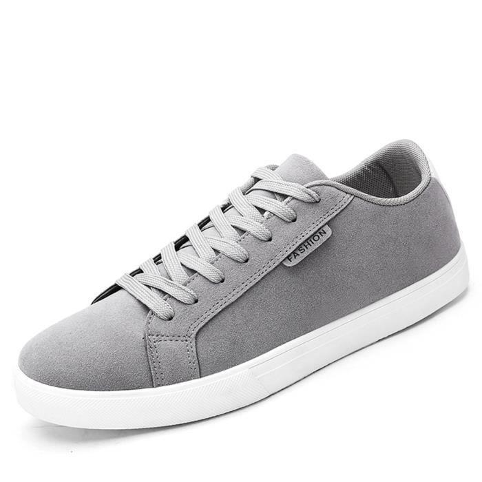 Moccasins Homme Nouveauté Mode Poids Léger Moccasin Respirant Antidérapant Chaussures Classique Doux gris noir Taille 39-44