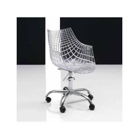 Fauteuil de bureau transparent Araigne Achat Vente chaise de