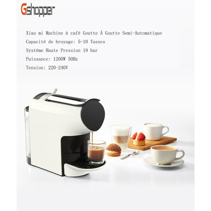 MACHINE À CAFÉ Machine à café XIAOMI APP contrôler Goutte à Goutt
