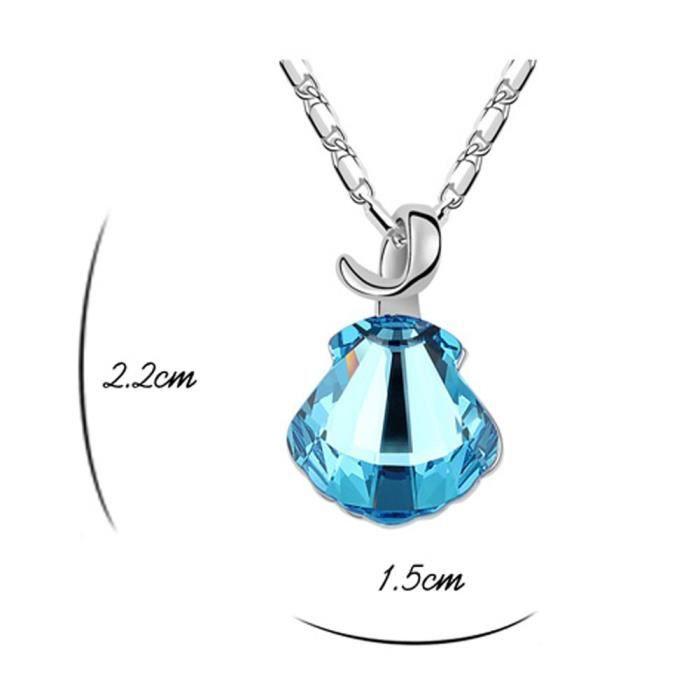 Les cristaux Swarovski femmes Collier pendentif à diamants. Tous les jours - Tenues de soirée Fashion bijoux. W61AV