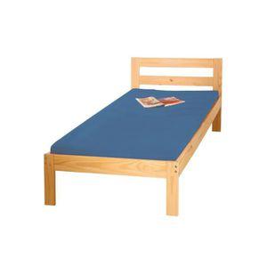 lit complet avec sommier et matelas 1 place achat vente pas cher. Black Bedroom Furniture Sets. Home Design Ideas