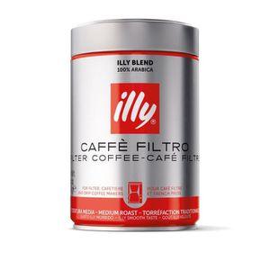 CAFÉ ILLY Café 100 % Arabica - Moulu pour filtre - 250