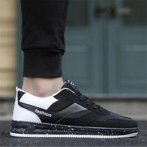 Baskets Homme De Marque De Luxe Nouvelle Mode 2017 Hommes Basket Poids Léger Antidérapant Sneaker blanc bleu noir Grande Taille eTSjv1