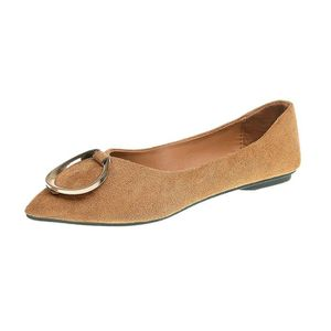 SLIP-ON Mode point Casual femme Toe Chaussures de travail