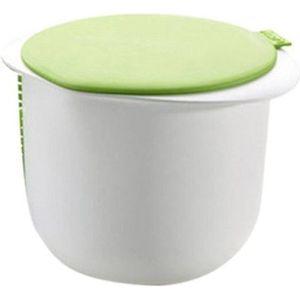 YAOURTIÈRE - FROMAGÈRE Kit de fabrication de fromage avec couvercle, l'ou