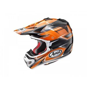 CASQUE MOTO SCOOTER Casque Cross Arai Mx-V Sly Orange Taille XXL