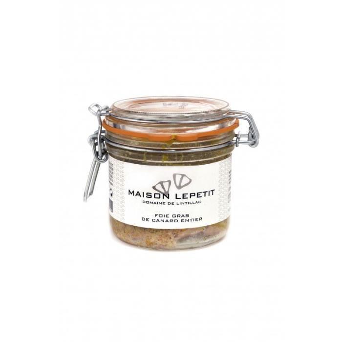 FOIE GRAS lot 2 foie gras de canard entier 300 gr maison lep