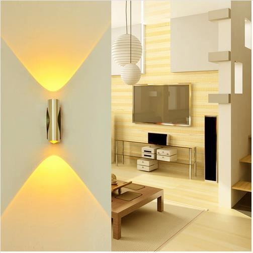 2w Applique Murale Led Lampe Murale En Lumiere Interieur Decoratif