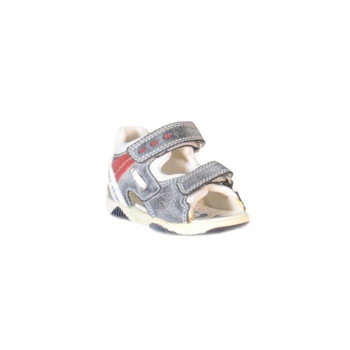 Primigi - Primigi Sandales pour Garçon Bleu Cuir Velcro 69751