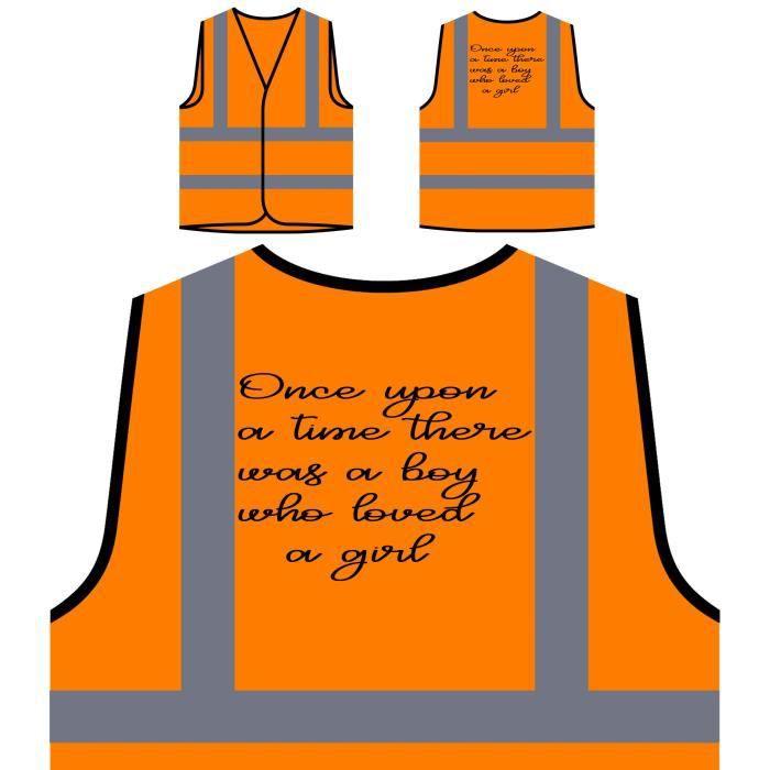 Un Haute Avait À Une Orange Fille De Aimait Protection Veste Nouve Qui Personnalisée il Fois Qu'il Visibilité Garçon Y Était Wxc6OWwqR