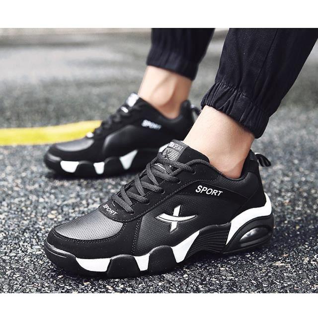 Mode Hommes Chaussures de course Baskets pour homme Chaussures de sport en plein air taille 39-44