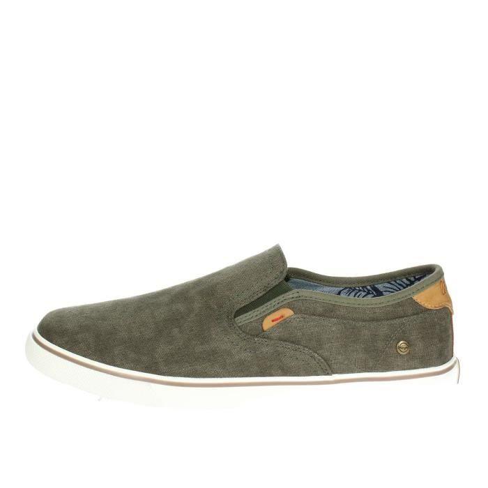SLIP-ON Wrangler Slip-on Chaussures Homme Vert foncé, 40