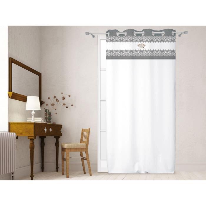 rideaux soleil d ocre achat vente rideaux soleil d ocre pas cher cdiscount. Black Bedroom Furniture Sets. Home Design Ideas