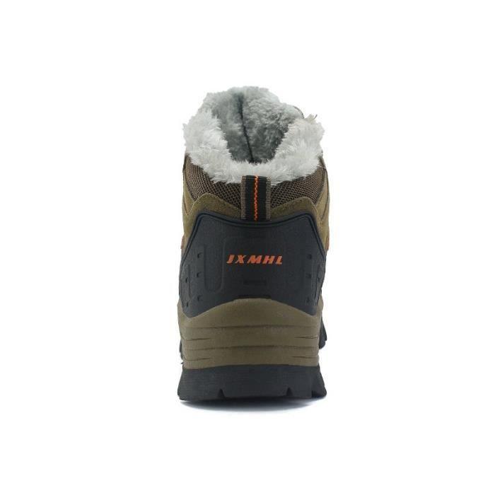 SHOE20171027004-1-44-marronPeluche bottes de plein air chaud rvDAZ6N7LA