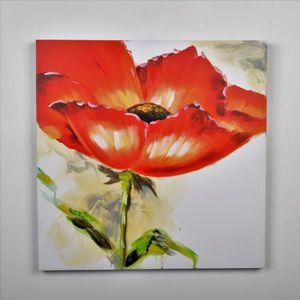 TABLEAU - TOILE Tableau déco Fleurs  64 -  Toile peinte à la main