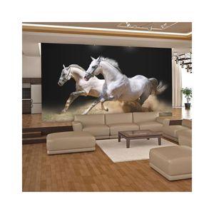 Papier peint chevaux pour chambre perfect personnalis - Papier peint chevaux pour chambre ...