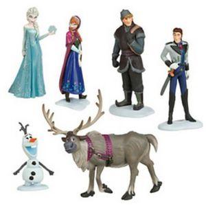 Figurine gateau reine des neiges pas cher