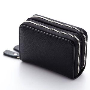 PORTEFEUILLE 10.5x8.5x4CM Nouveau sac à main femme en cuir Sac