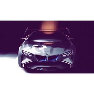 AFFICHE - POSTER Poster de la BMW Vision Gran Turismo (Dimensions :