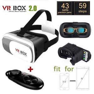 LUNETTES 3D VR BOX 2.0 Version VR Virtual lunettes 3D + Blueto