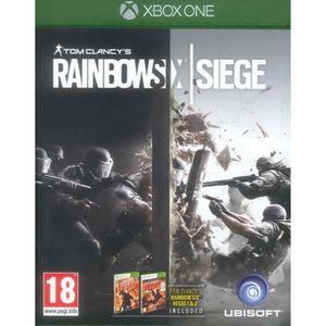 JEU XBOX ONE Tom Clancy Rainbow Six Siege : Xbox One , FR