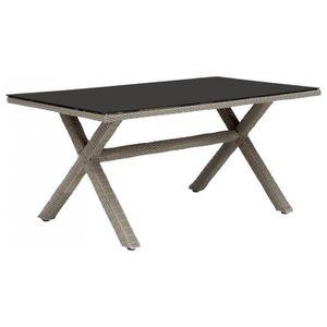 Séville Graphite • 810 Mobilier Extensible Extérieur Table Places SUVqMzp