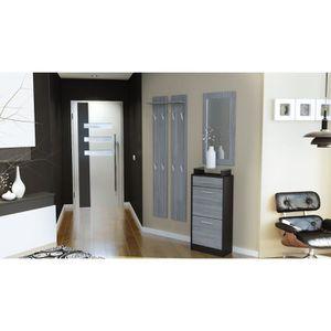 vestiaire mural achat vente vestiaire mural pas cher soldes d s le 27 juin cdiscount. Black Bedroom Furniture Sets. Home Design Ideas