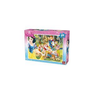 PUZZLE Puzzle 24 Pieces Disney - Blanche Neige Et les 7 N