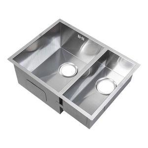 Evier 1 bac ceramique achat vente evier 1 bac for Evier inox 1 bac pas cher