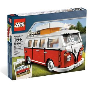 ASSEMBLAGE CONSTRUCTION Lego 10220 - Exclu - Le camping-car Volkswagen T1