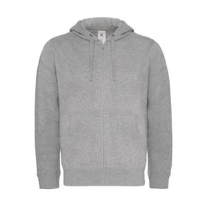 SWEATSHIRT Sweat-shirt à capuche zippé - homme - WM647 - gris ... d81119dc11ad