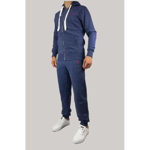 0841e1c457b3d8 Ensemble de vêtements Survêtement Ralph Lauren Bleu Chiné