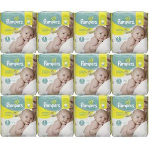 COUCHE Pampers New Baby Taille 1 Newborn 2-5kg 264 Couche