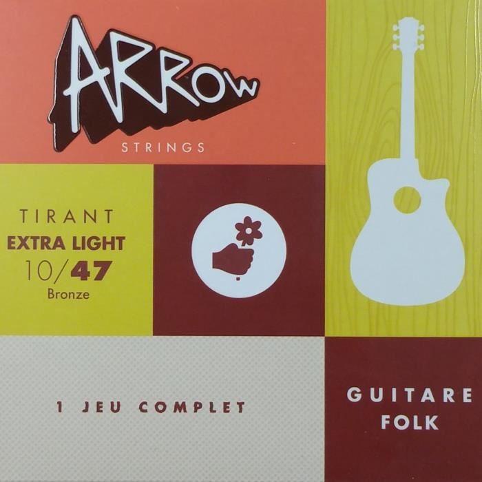 ARROW AR-FKXL Jeu folk Tirant Extra Light