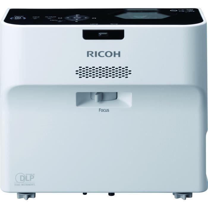 RICOH PJWX4152 Vidéoprojecteur - Ultra courte focale - 3500 lumens - Wi-Fi