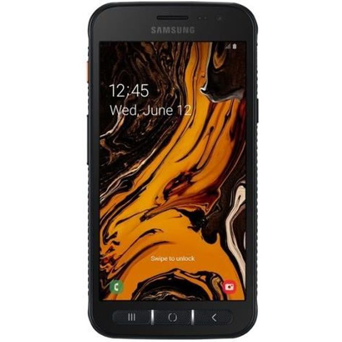 """SAMSUNG Smartphone Samsung Galaxy Xcover 4s SM-G398FN/DS 32Go - 4G - Écran (5"""") HD - Android 9."""