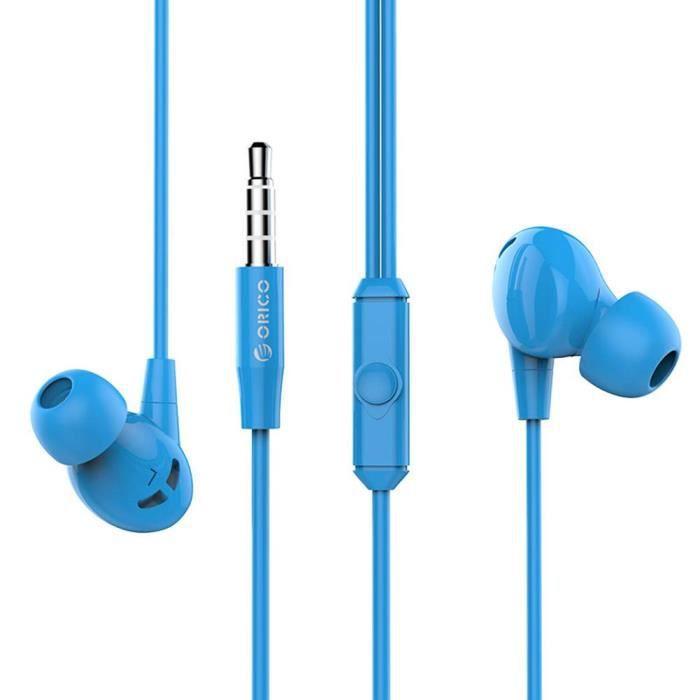 Orico Soundplus-rp1 Écouteurs Intra-auriculaires Pour Musique Stéréo (bleu)