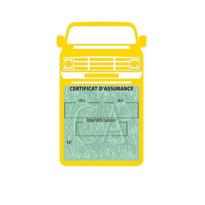 PORTE VIGNETTE Simple porte vignette assurance Dodge Van Ram stic