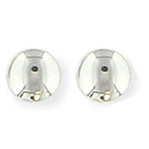 SF Bijoux - Boucles doreilles argent 925/1000e bouton (1,47 g) - (101769)