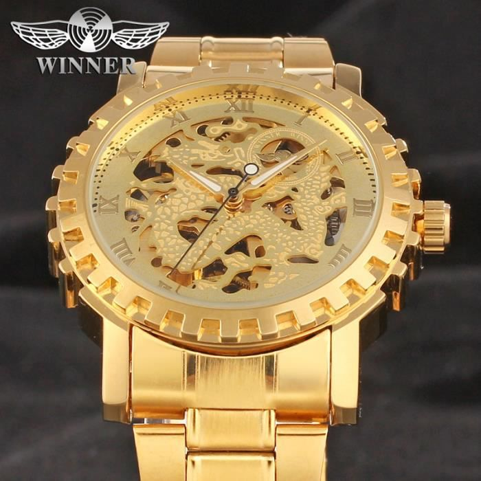 Top Montres homme or - Achat / Vente pas cher - Cdiscount CY48