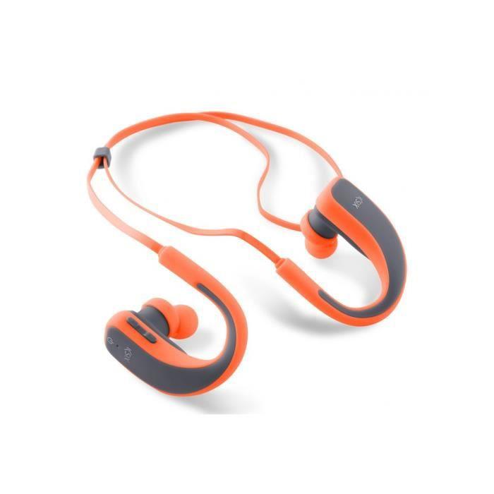 Casque Sport Orange Bt4 Ksix