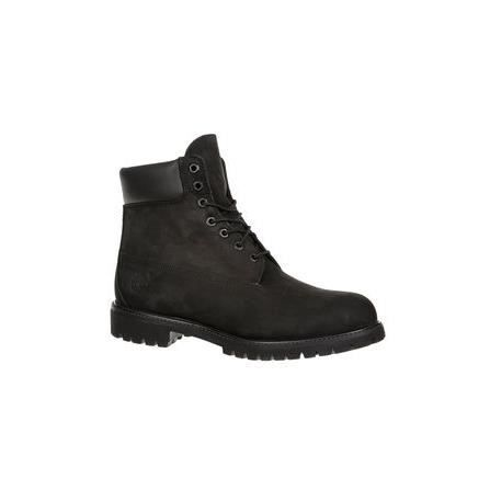 Boots Homme A Lacets Nubuck 6 In Premium Boot Timberland Noir